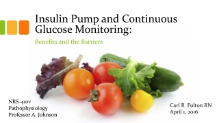 Continuous Insulin Pump Therapy