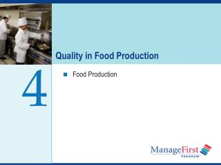 Quality in Food Production