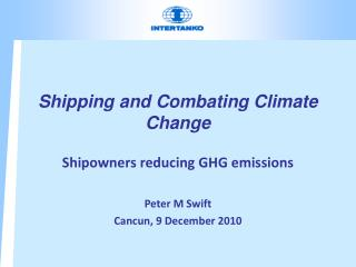 Shipping and Combating Climate Change