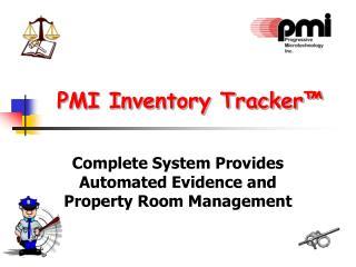 PMI Inventory Tracker™