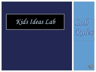 Kids Ideas Lab