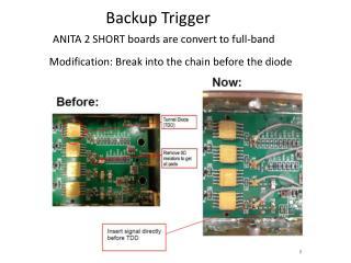 Backup Trigger