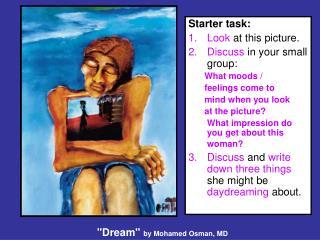"""""""Dream""""  by Mohamed Osman, MD"""