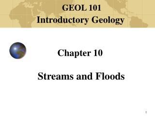 Chapter 10 Streams and Floods