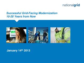 Successful Grid-Facing Modernization 10-20 Years from Now