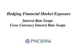 Hedging Financial Market Exposure Interest Rate Swaps Cross Currency Interest Rate Swaps