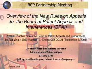 Jeffrey V. Nase and Richard Torczon Administrative Patent Judges 571-272-9797