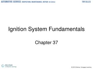 Ignition System Fundamentals