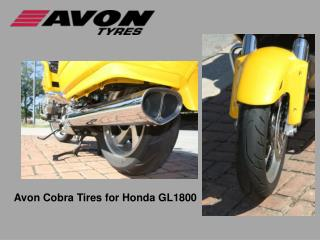 Avon Cobra Tires for Honda GL1800