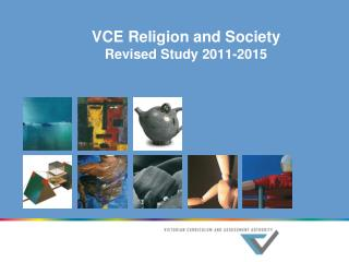 VCE Religion and Society Revised Study 2011-2015