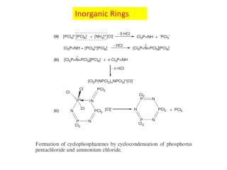 Inorganic Rings