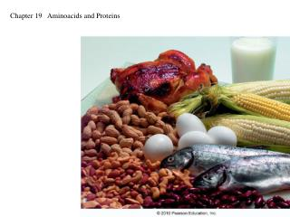 Chapter 19   Aminoacids and Proteins
