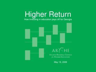 Higher Return
