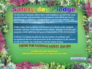 Safety day Pledge