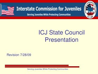 ICJ State Council Presentation
