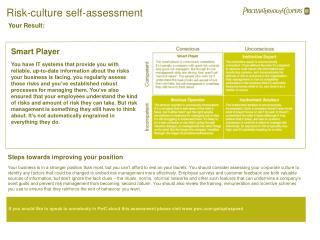 Risk-culture self-assessment