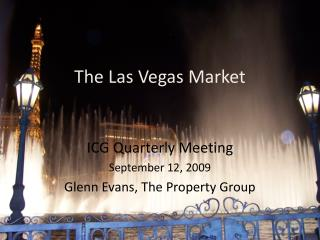 The Las Vegas Market