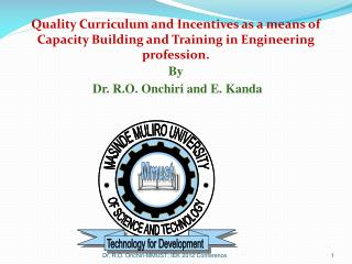 HIGH DEMAND OF ENGINEERS Teaching Industry Pool of qualified Engineers