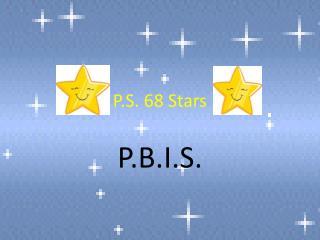 P.S. 68 Stars