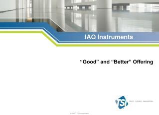 IAQ Instruments