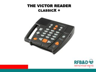 THE VICTOR READER  CLASSIC X +