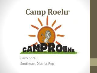 Camp  Roehr