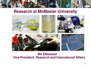 Research at McMaster University