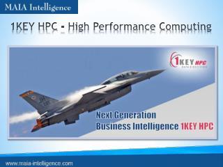 1KEY HPC - High Performance Computing