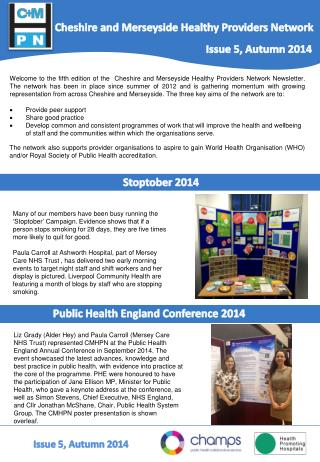 Cheshire and Merseyside Healthy Providers Network