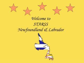 Welcome to STARSS  Newfoundland & Labrador