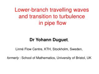 Lower-branch travelling waves and transition to turbulence  in pipe flow