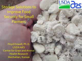 Storage Solutions to Improve Food Security for Small Farmers