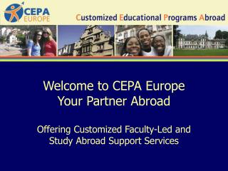 An Introduction to CEPA Europe