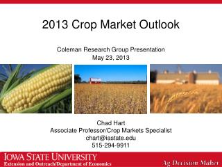 2013 Crop Market Outlook