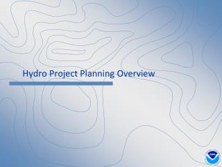 Hydro Project Planning Overview