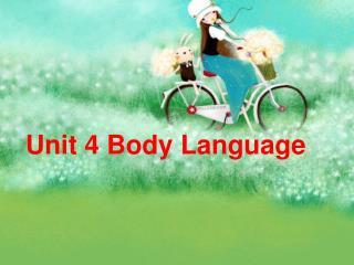 Unit 4 Body Language