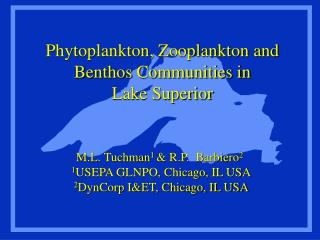Phytoplankton, Zooplankton and Benthos Communities in  Lake Superior
