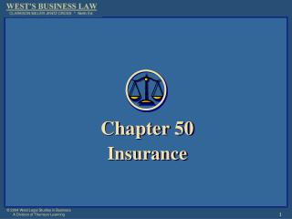 Chapter 50 Insurance