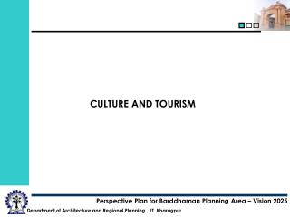 CULTURE AND TOURISM
