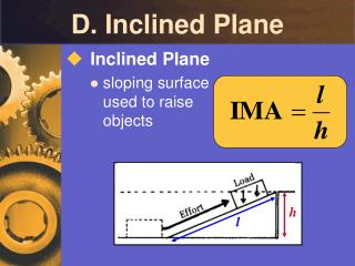 D. Inclined Plane