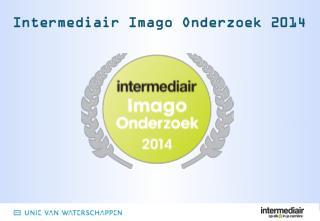 Intermediair Imago Onderzoek 2014