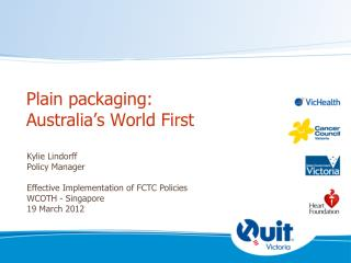 Plain packaging: Australia's World First