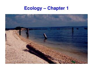 Ecology � Chapter 1