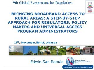 9th Global Symposium for Regulators  (GSR)