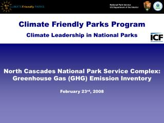 Climate Friendly Parks Program Climate Leadership in National Parks