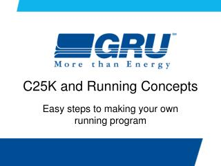 C25K and Running Concepts