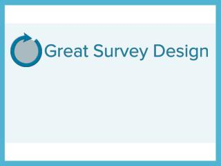 Surveys: What Are They?
