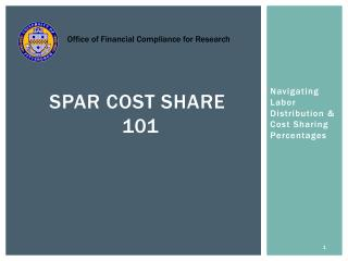SPAR Cost Share  101