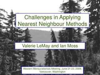 Challenges in Applying Nearest Neighbour Methods