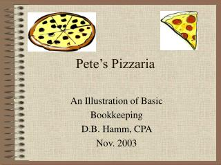 Pete's Pizzaria